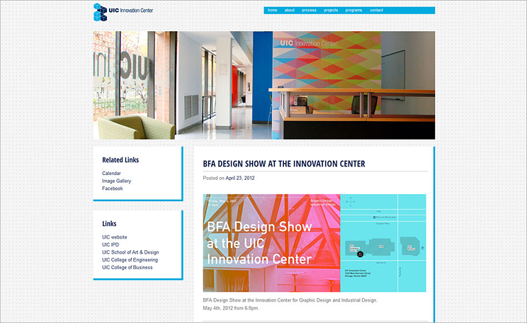 Innovation Center Website