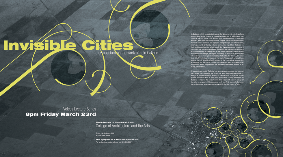 Invisible Cities Poster