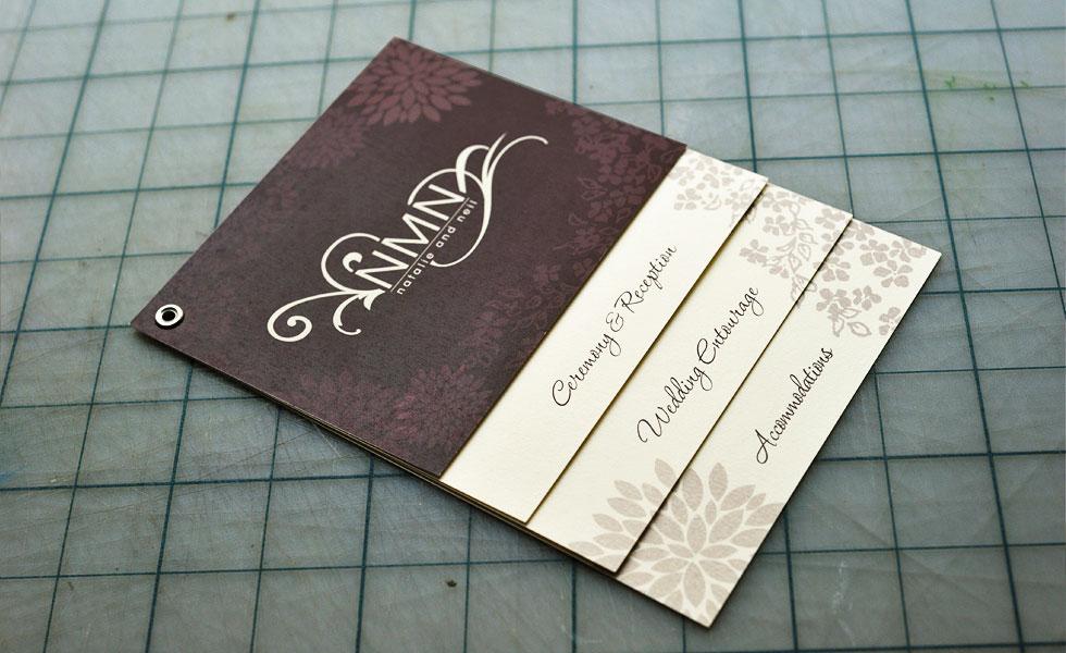 NMN Wedding Invitation
